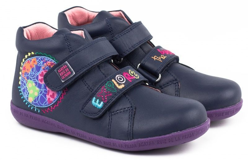 Ботинки детские AGATHA RUIZ DE LA PRADA черевики дит.дів. YV182 брендовая обувь, 2017