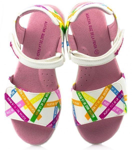 Сандалии для детей AGATHA RUIZ DE LA PRADA YV200 купить в Интертоп, 2017