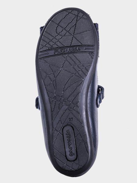 Балетки  для дітей Garvalin AZUL MARINO (SAUVAGE) 191600-B брендове взуття, 2017
