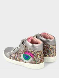 Ботинки детские AGATHA RUIZ DE LA PRADA PLATA (GLITER) YV339 брендовая обувь, 2017