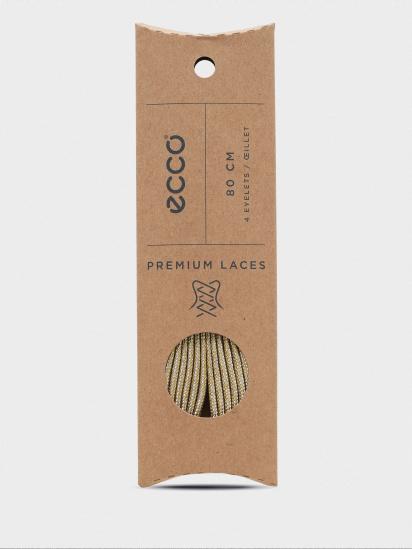 Шнурки ECCO Metallic Flat - фото