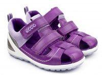 Фиолетовые сандалии Для девочек, фото, intertop