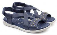 Синие сандалии Для девочек, фото, intertop