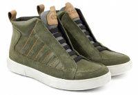 Зеленые ботинки Для мальчиков, фото, intertop