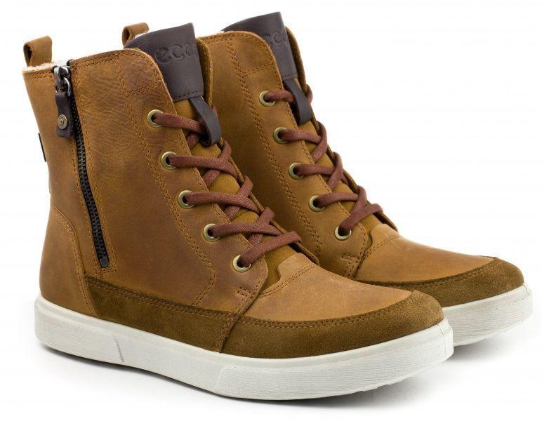 Ботинки для детей ECCO CADEN ZK2723, Коричневый  - купить со скидкой