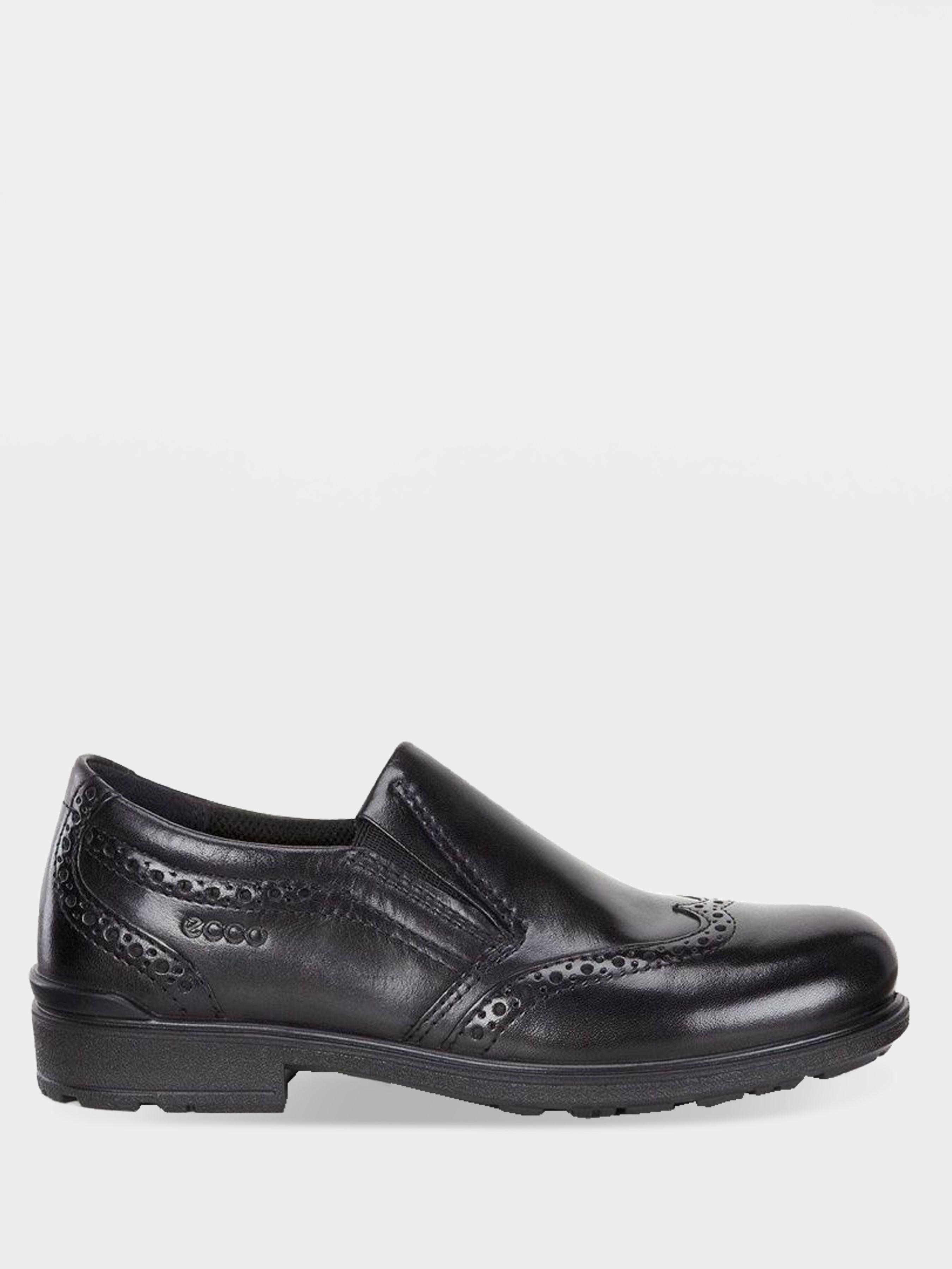 хлопчачі туфлі ecco cohen 730172(01001) шкіряні