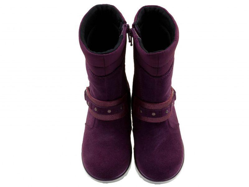 дівчачі чоботи ecco aspen 720312(58718) шкіряні/текстильні фото 4