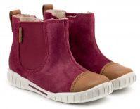 детская обувь ECCO красного цвета, фото, intertop