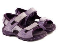 Фиолетовые сандалии Для девочек приобрести, 2017