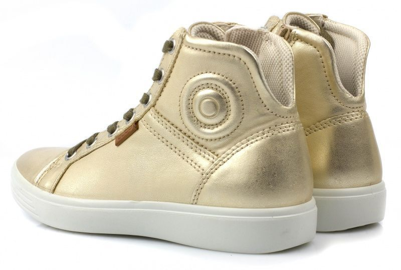 Ботинки детские ECCO S7 TEEN ZK2873 брендовая обувь, 2017