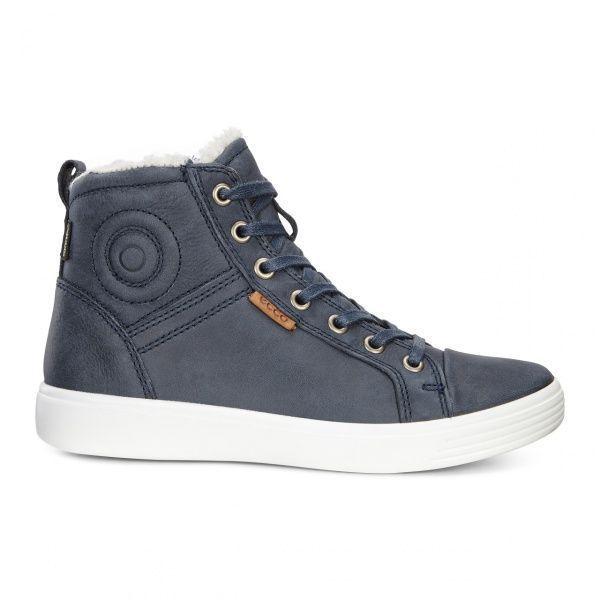 дівчачі черевики ecco s7 teen 780073(02038) нубукові