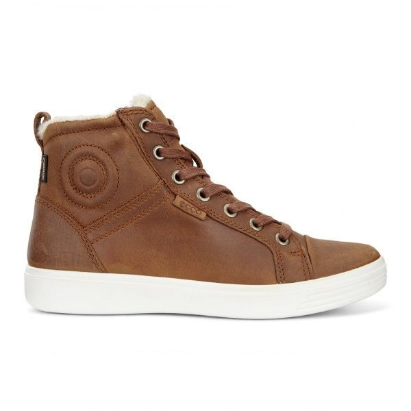 дівчачі черевики ecco s7 teen 780073(02112) нубукові