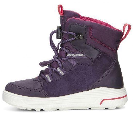 дівчачі черевики ecco urban snowboarder 722102(50125) замшеві фото 1