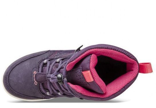 дівчачі черевики ecco urban snowboarder 722102(50125) замшеві фото 4