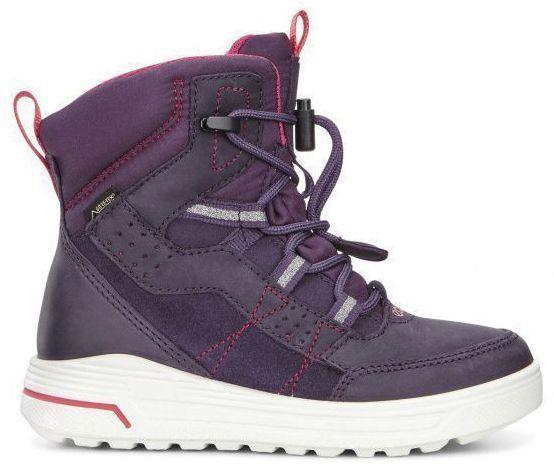 дівчачі черевики ecco urban snowboarder 722102(50125) замшеві