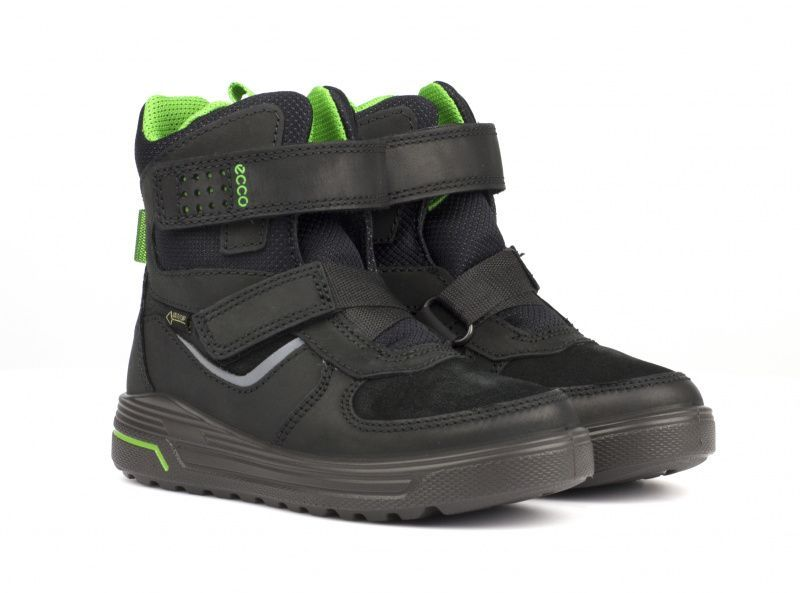 Ботинки для детей ECCO URBAN SNOWBOARDER ZK2955 примерка, 2017
