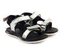 Серебряные сандалии Для девочек, фото, intertop