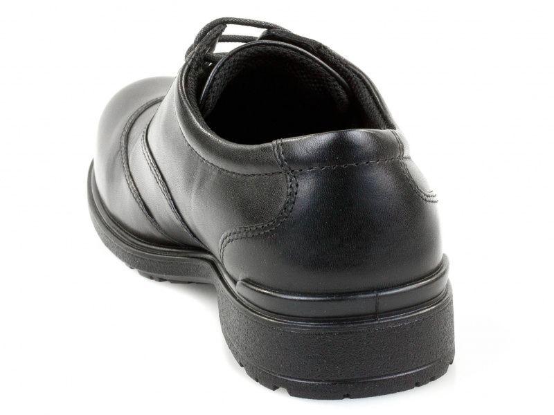 хлопчачі туфлі ecco cohen 730223(01001) шкіряні фото 1