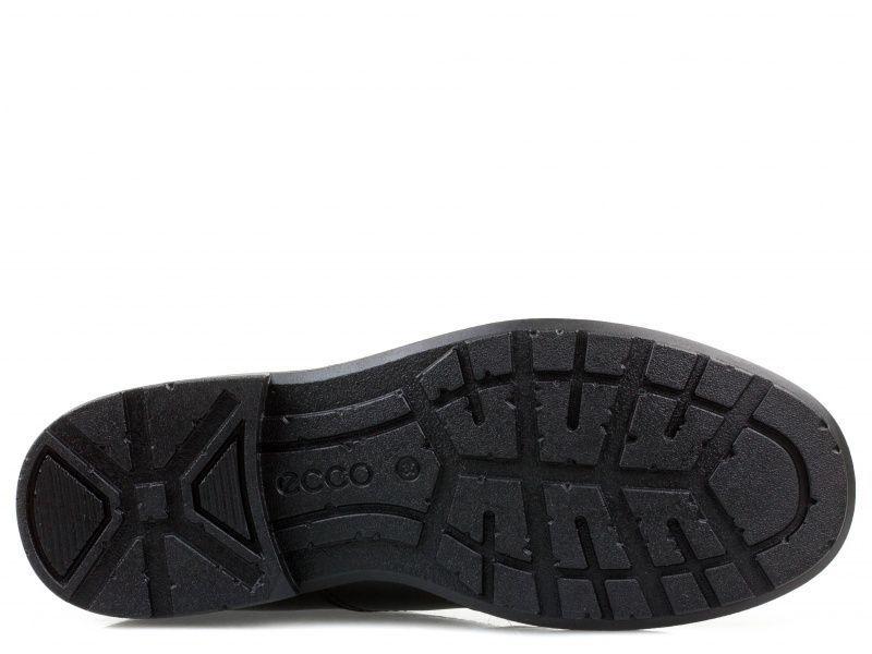 хлопчачі туфлі ecco cohen 730223(01001) шкіряні фото 3