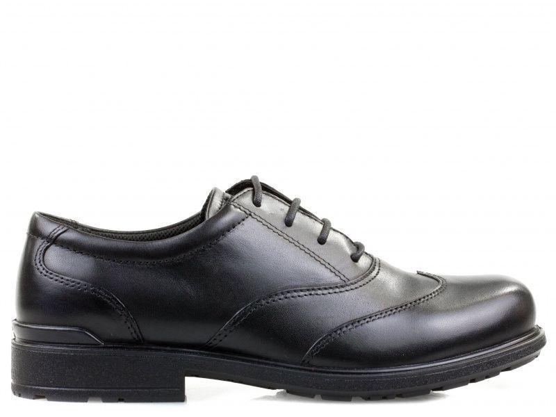 хлопчачі туфлі ecco cohen 730223(01001) шкіряні