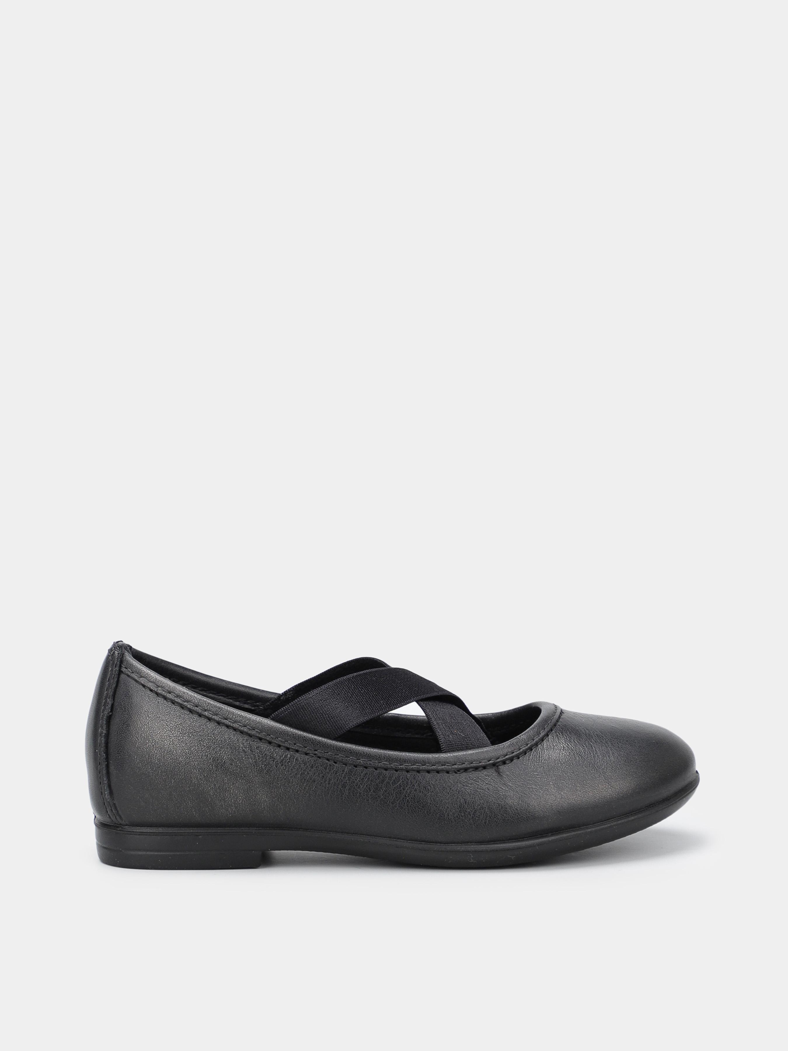 дівчачі туфлі ecco audrey 780552(01001) шкіряні