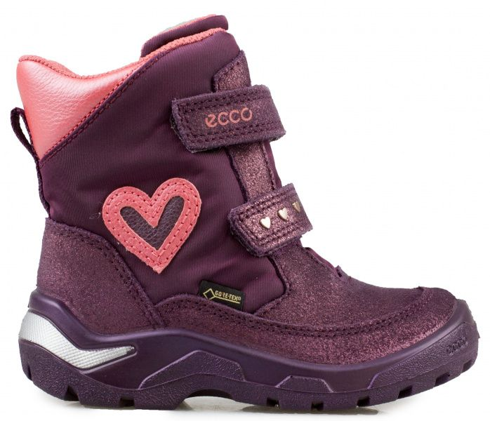 дівчачі черевики ecco snowride 751291(50722) комбінований верх