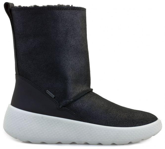 дівчачі чоботи ecco ukiuk kids 723733(51707) комбінований верх