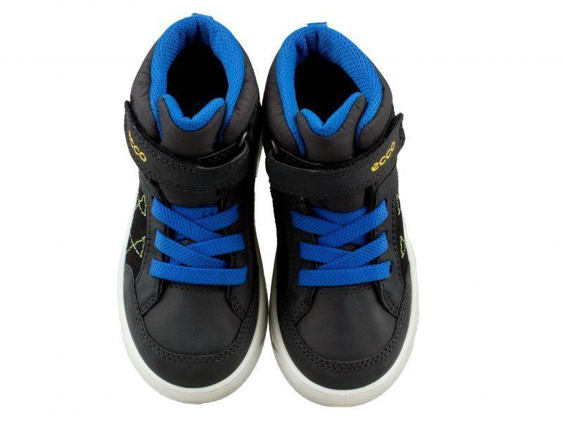 хлопчачі черевики ecco urban snowboarder 722212(51707) комбінований верх фото 4