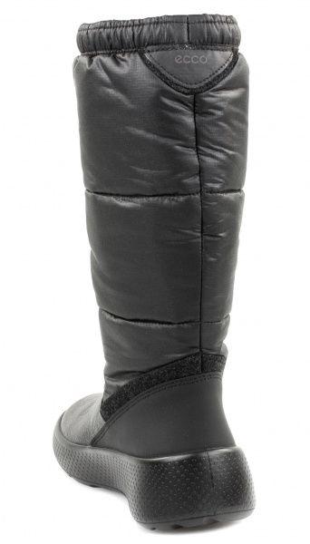 дівчачі чоботи ecco ukiuk kids 723713(58154) шкіряні/текстильні фото 1