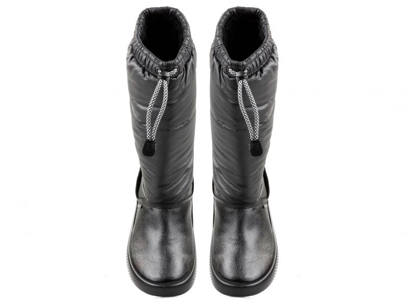 дівчачі чоботи ecco ukiuk kids 723713(58154) шкіряні/текстильні фото 4