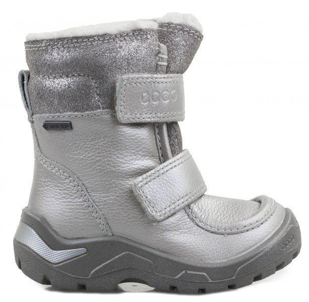 дівчачі черевики ecco snowride 751311(50740) комбінований верх