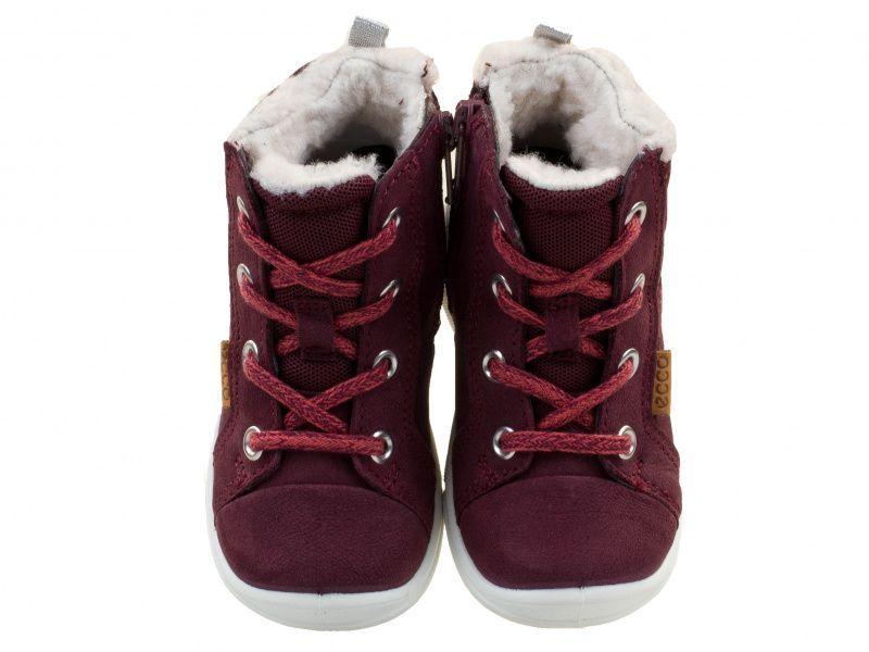 дівчачі черевики ecco first 754211(01070) шкіряні фото 4