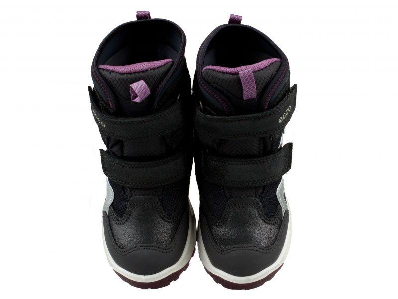 дівчачі черевики ecco snow mountain 710222(50747) комбінований верх фото 4