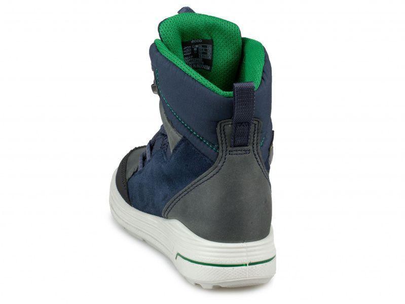 хлопчачі черевики ecco urban snowboarder 722102(58854) комбінований верх фото 1