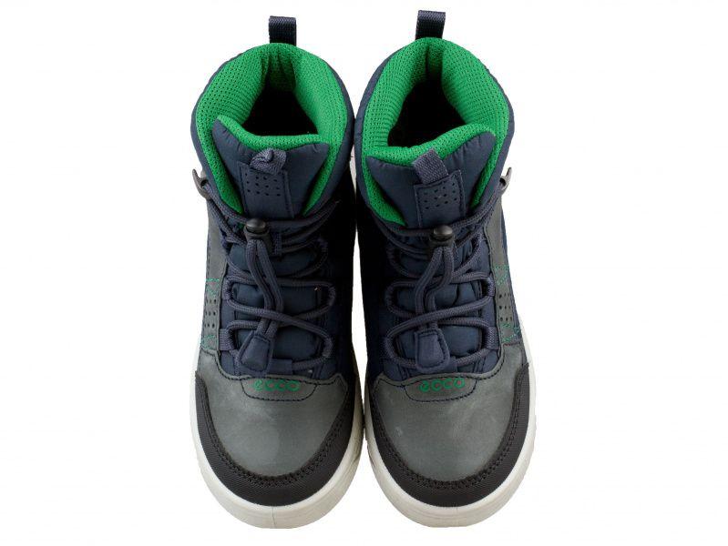 хлопчачі черевики ecco urban snowboarder 722102(58854) комбінований верх фото 4