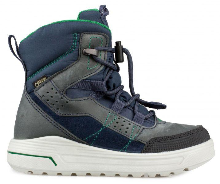 хлопчачі черевики ecco urban snowboarder 722102(58854) комбінований верх