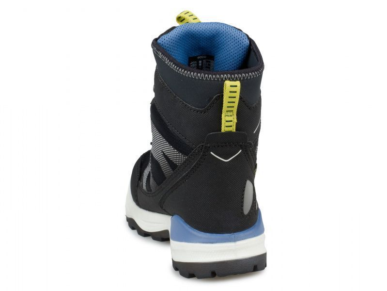 хлопчачі черевики ecco snow mountain 710202(50744) комбінований верх фото 1