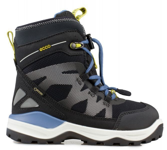 Ботинки детские ECCO SNOW MOUNTAIN ZK3122 примерка, 2017