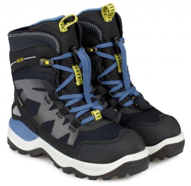 хлопчачі черевики ecco snow mountain 710202(50744) комбінований верх