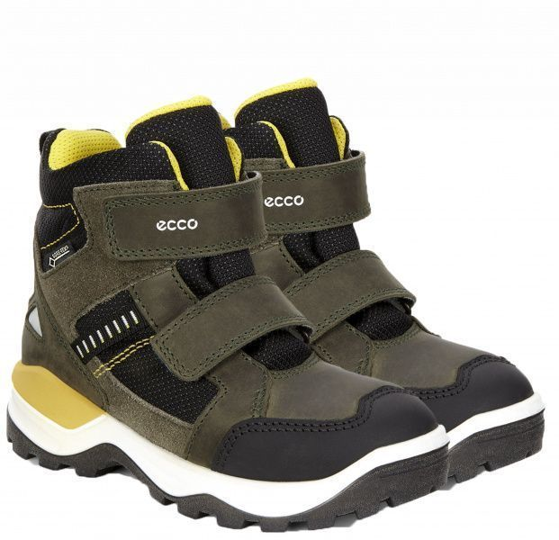 Ботинки детские ECCO SNOW MOUNTAIN ZK3127 размерная сетка обуви, 2017