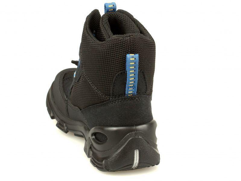 хлопчачі черевики ecco snowboarder 721232(50189) комбінований верх фото 1