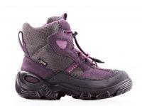 детская обувь ECCO фиолетового цвета приобрести, 2017
