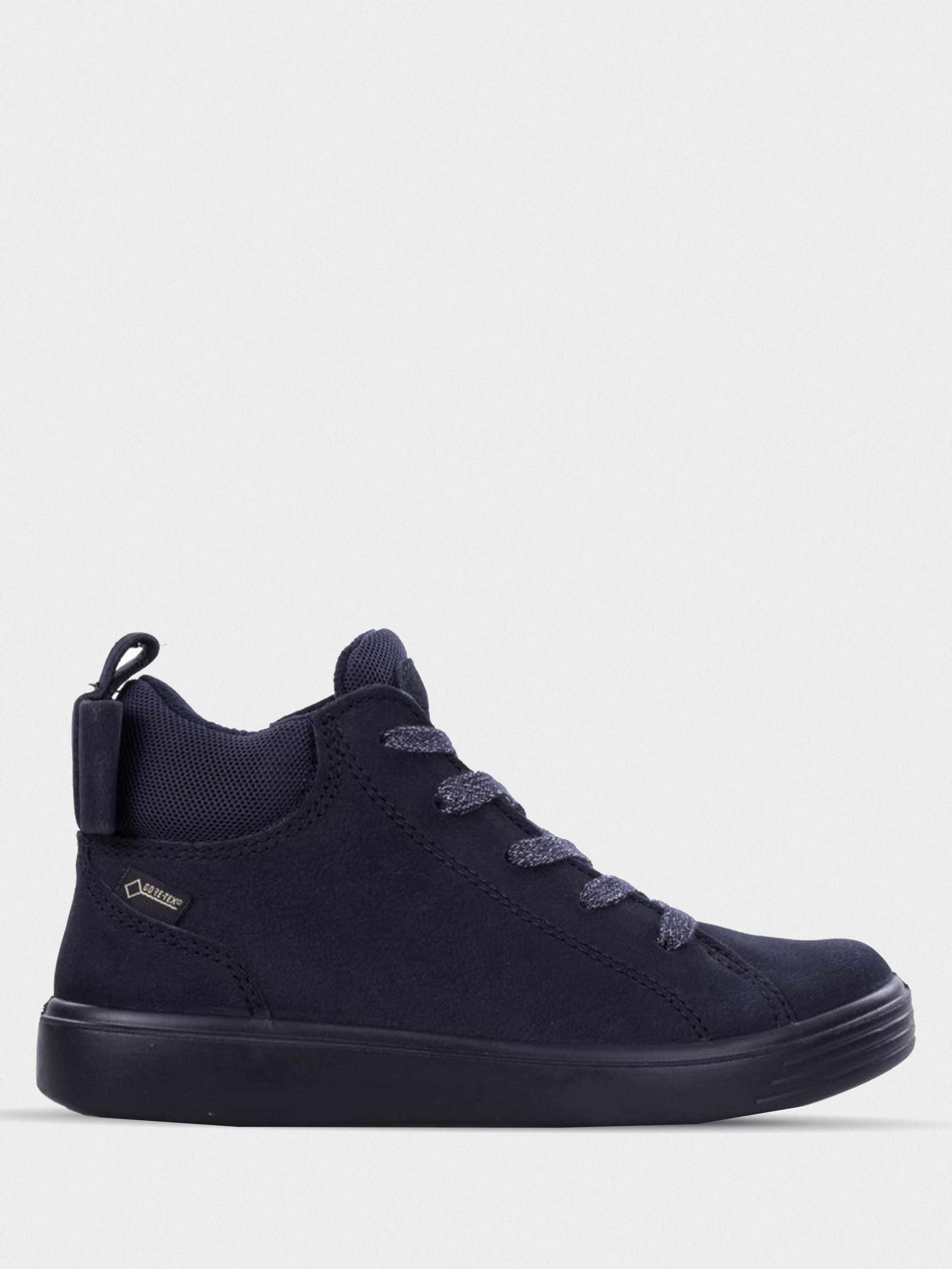 Купить Ботинки детские ECCO S7 TEEN ZK3249, Синий