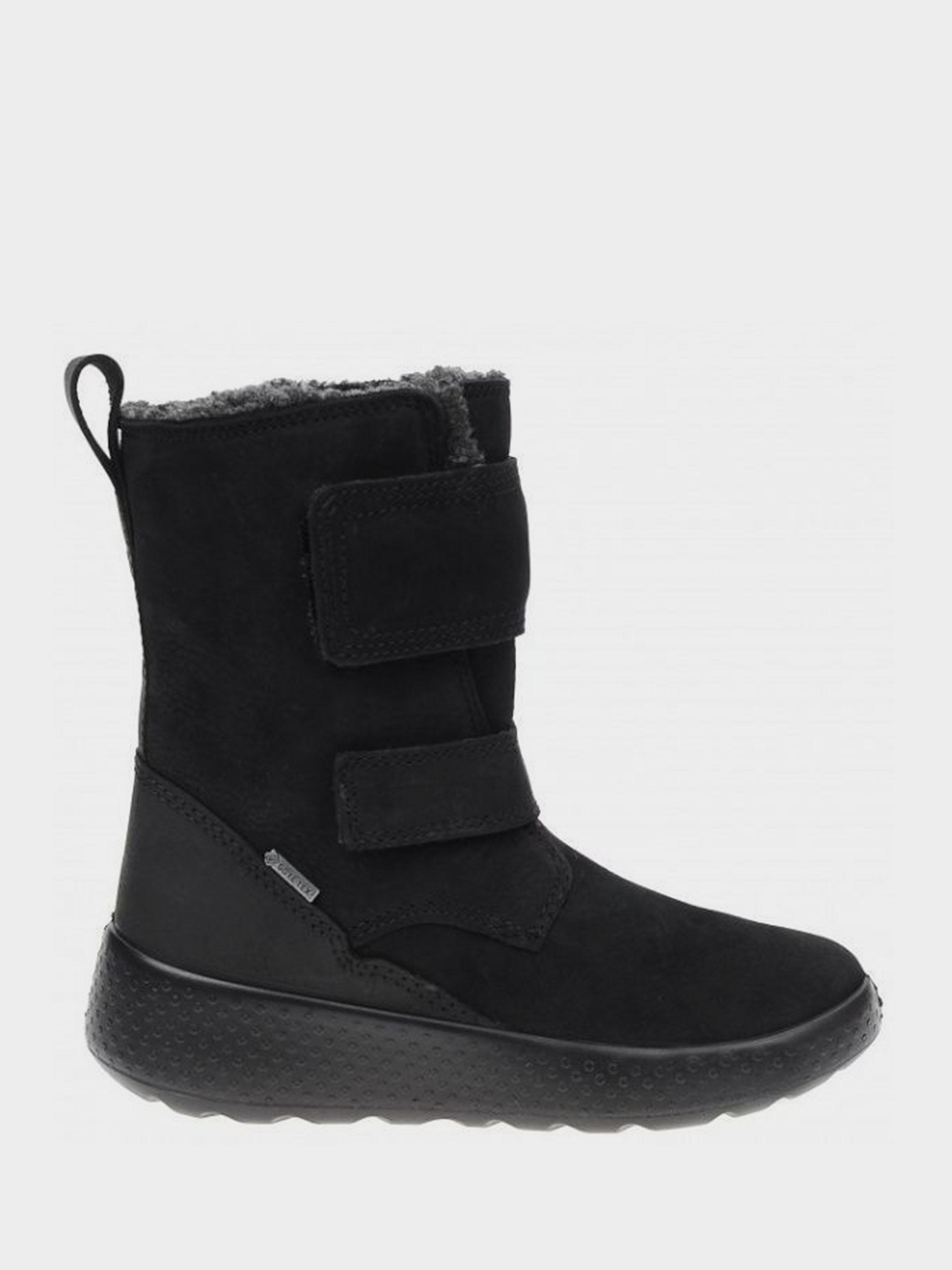 дівчачі чоботи ecco ukiuk kids 723752(51052) нубукові
