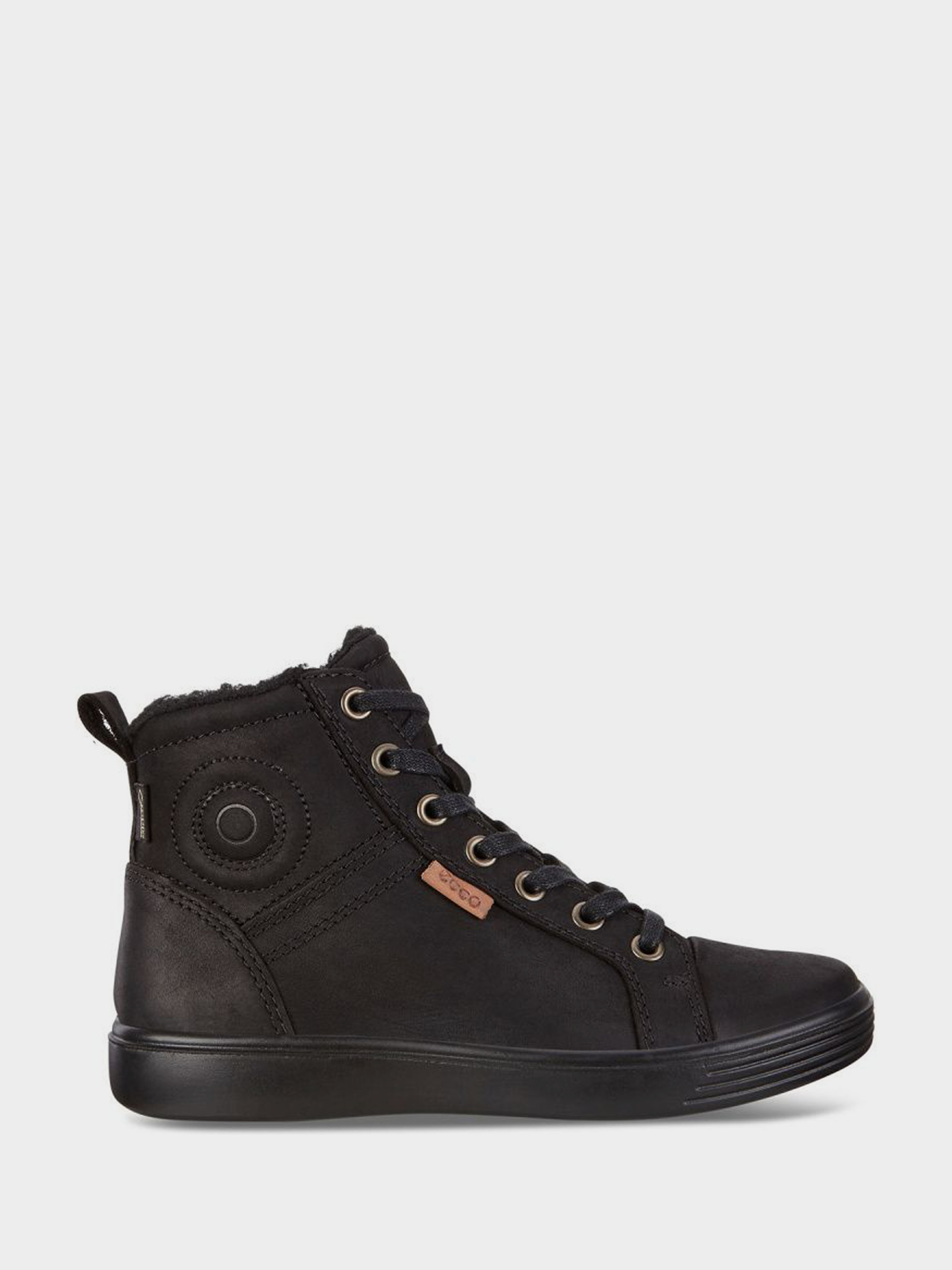 Купить Ботинки детские ECCO S7 TEEN ZK3302, Черный