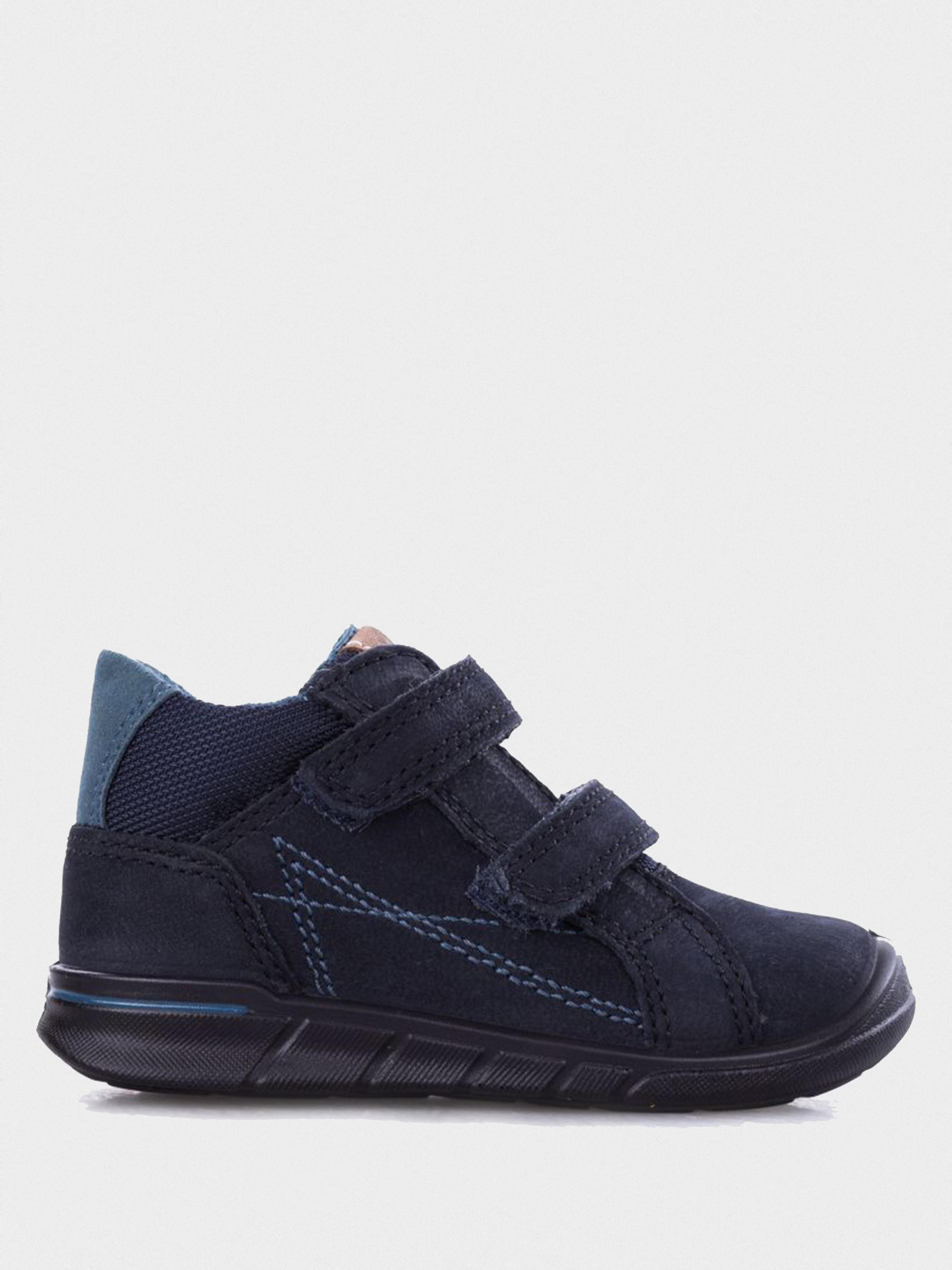 Купить Ботинки детские ECCO FIRST ZK3317, Синий