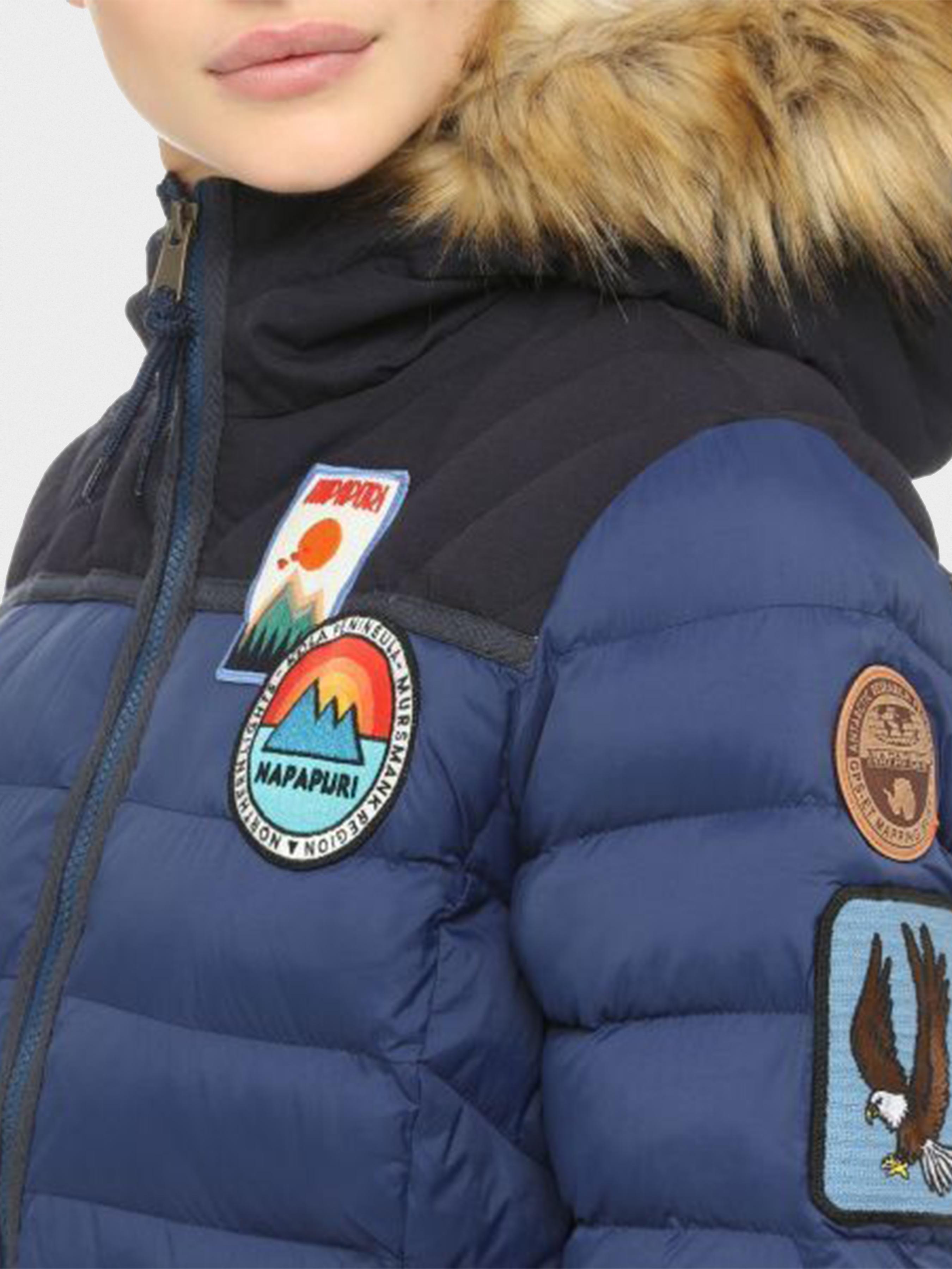 Куртка женские Napapijri модель ZL1085 качество, 2017
