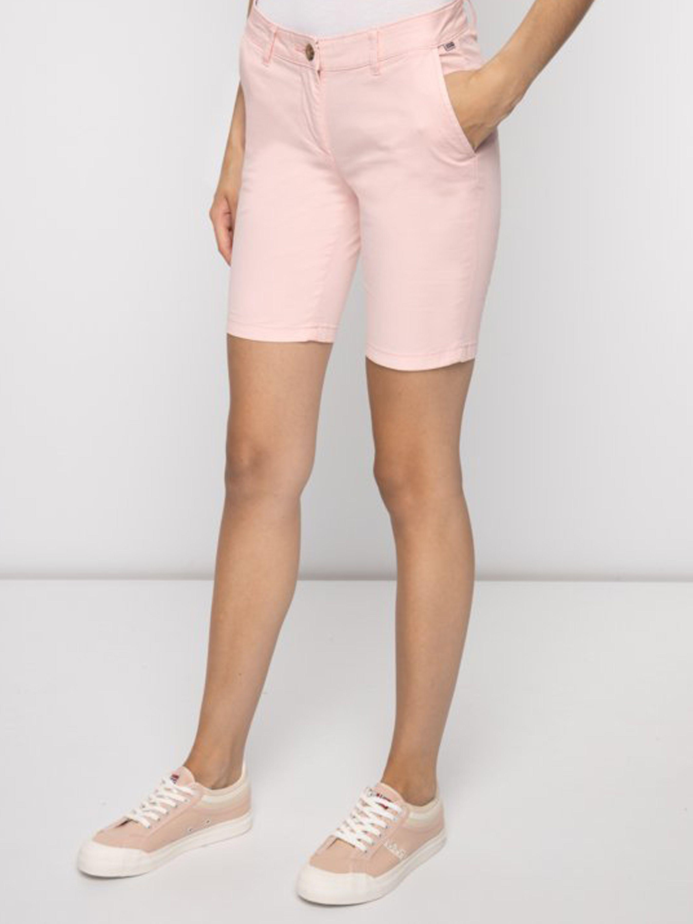 Купить Шорты женские модель ZL1139, Napapijri, Розовый