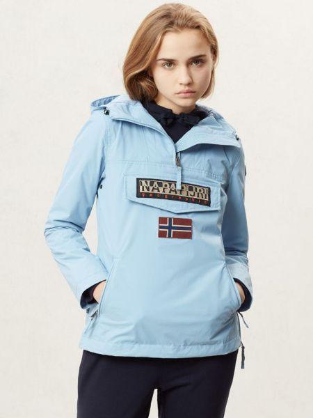 Купить Куртка женские модель ZL1151, Napapijri, Голубой