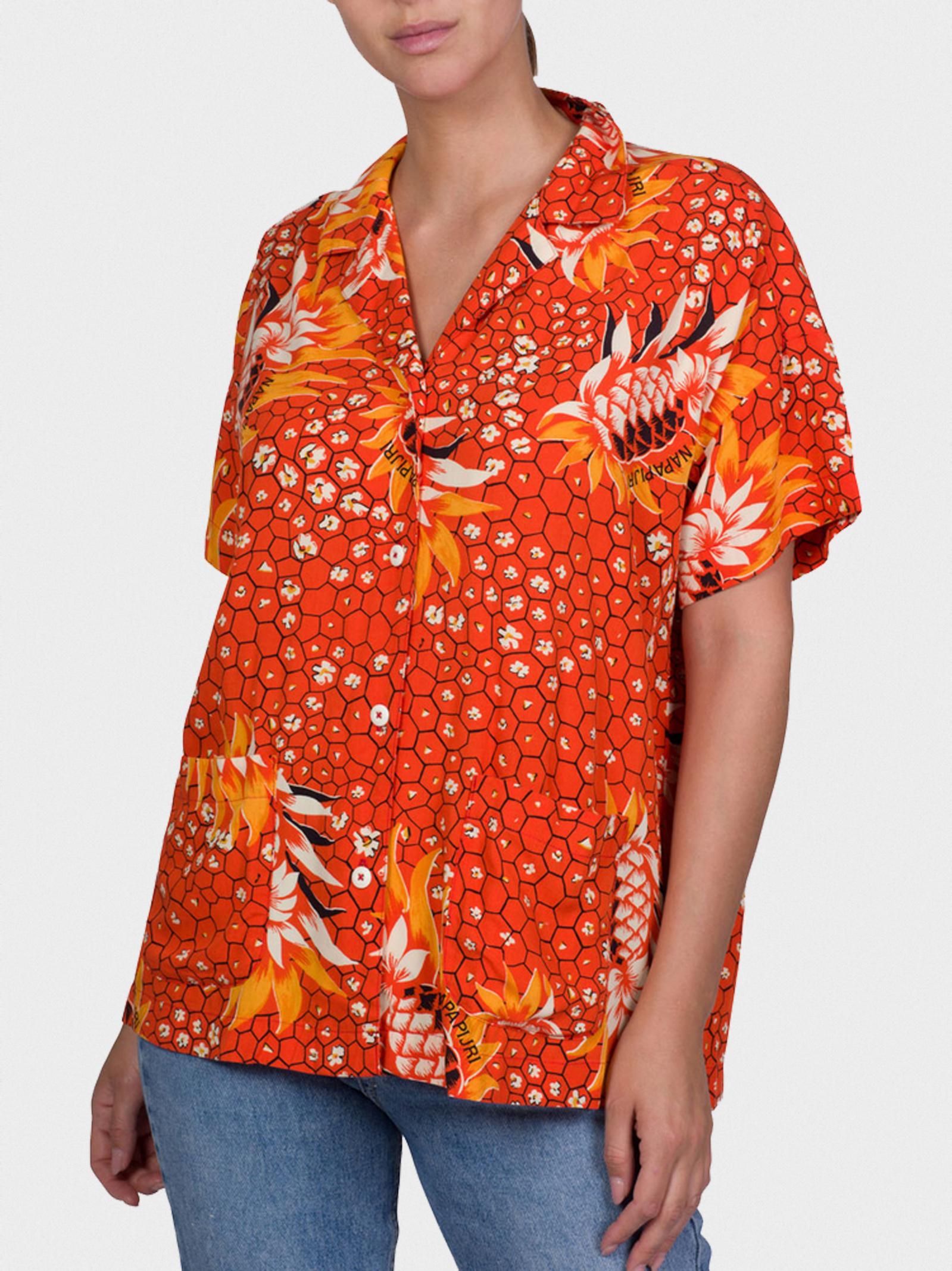 Рубашка женские Napapijri модель ZL1318 купить, 2017